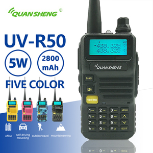 Image 1 - Quansheng UV R50 Walkie Talkie UHF VHF Dual Band 5Wวิทยุ2800MAhวิทยุแบบพกพาuv 5r Hf Transceiver Uv 5r