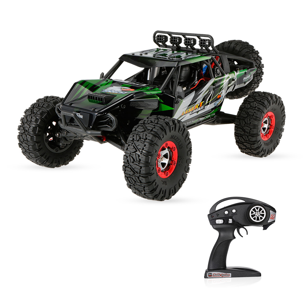 FY-07 Desert-7 RC Car 1/12 4WD 2.4G 70KM/h High Speed Remote Control Brushless Desert Rock Crawler Car Vehicle RC Toys Gifts