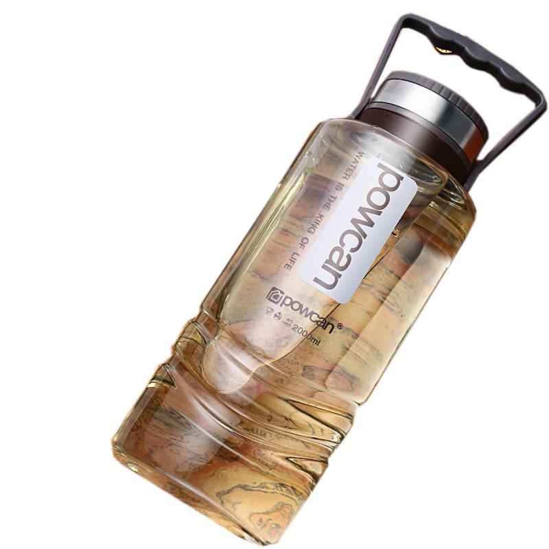 Large Capacity Bottle 1000ML 1500ML 2000ML Tour Outdoor Water Bottles Sport Leak Proof Seal Water bottle Plastic Drinkware|Water Bottles| |  - AliExpress
