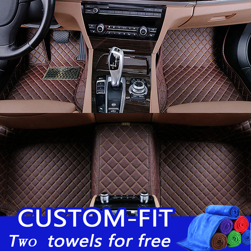 Custom fit car floor mats for Subaru Forester Legacy Outback XV car-styling heavy duty all weather carpet floor liner keller