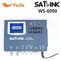 Yojia DVB-T Satlink WS-6990 détecteur terrestre 1 Route DVB-T modulateur/AV/HD WS-6990 Satlink 6990 détecteur de compteur numérique