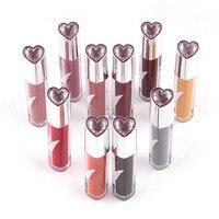 New 10Pcs Set 10 Colors Waterproof Make Up Lip Pencil Long Lasting Smooth Liquid Matte Lipstick