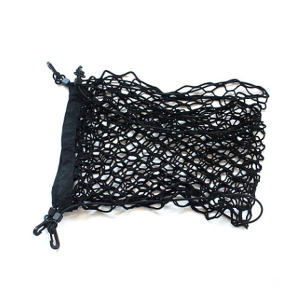 90*30 car trunk net bag luggage net car storage net storage bag Mesh Cargo Net Hook Pouch Holder for Bag