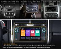 XTRONS 6.2 Android 8.0 Octa Core Car Radio DVD Player GPS Navigation for JEEP Patriot Liberty Wrangler Compass DODGE Chrysler