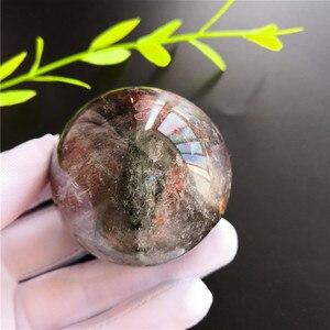 Aaa + натуральный Chorite кристаллы сад зеленый фантомный шар Сфера кварцевый образец Фен-шуй для коллекции украшения дома