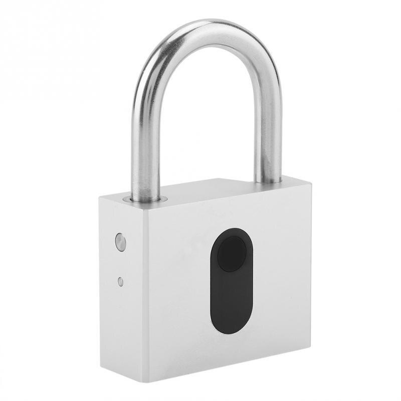 Keyless Anti theft Smart Lock Waterproof Padlock Mobile Phone Bluetooth APP Control Lock for Backpacks