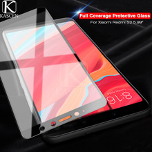 KASCEN Full Cover Tempered Glass For Xiaomi Redmi S2 S 2 5.99inch Premium Explosion-proof Screen Protector