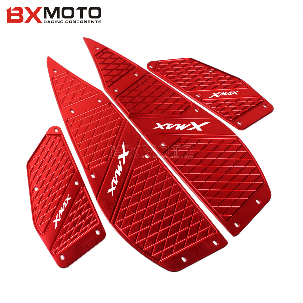 Motorcycle Accessories Foot Pegs Footrest Step Pedal Foot plate For Yamaha XMAX 300 2017 2018 X-MAX 250 300
