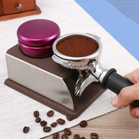 58mm/304 Stainless Steel Coffee Powder Hammer Handle Bean Tampers Coffee Espresso Latte Art Coffee Accessories