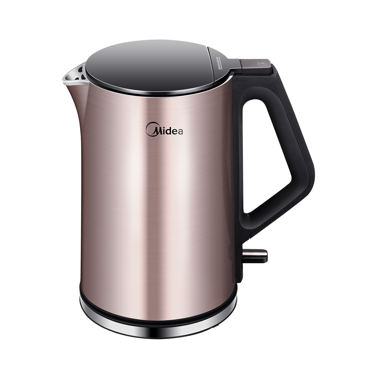 Midea Stainless Steel Electric Kettle With Safety Auto-OFF Function 1.5L Kettles WHJ1510B