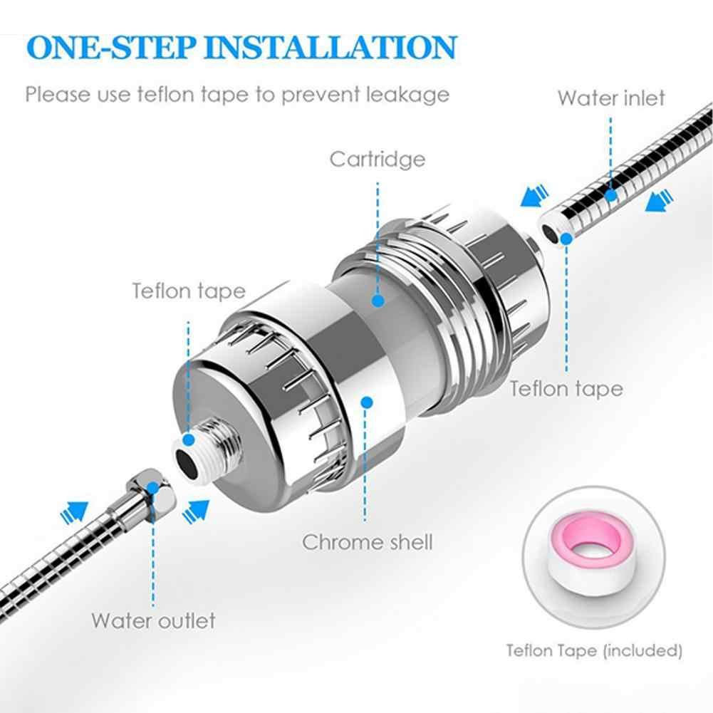 Adoolla 10-15 слойный набор фильтров разбрызгиватель для душа Фильтр для воды фильтр для удаления хлора для ванной комнаты