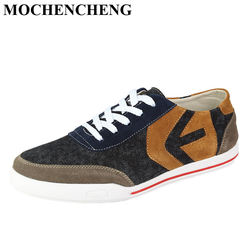 New Men Spring Summer Canvas Shoes Breathable Lace-up Casual Shoes Retro Style Mixed Color Leisure Shoes High Quality Sneakers new casual shoes men sneakers spring summer breathable soft lace up platform flats shoes black high quality fashion shoes h693