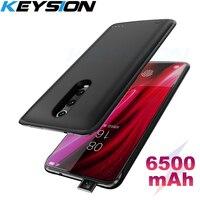 KEYSION 6500mAh Portable Battery Case for Xiaomi Mi 9T Pro Mi9 SE A2 Battery Power Bank Power Charging Case for Redmi K20 Note 7