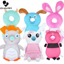 Chivry Baby Head Protection Pillow Pad Cute Cartoon Anti Fall Crash Soft Safety Wing PP Cotton Toddler Walk