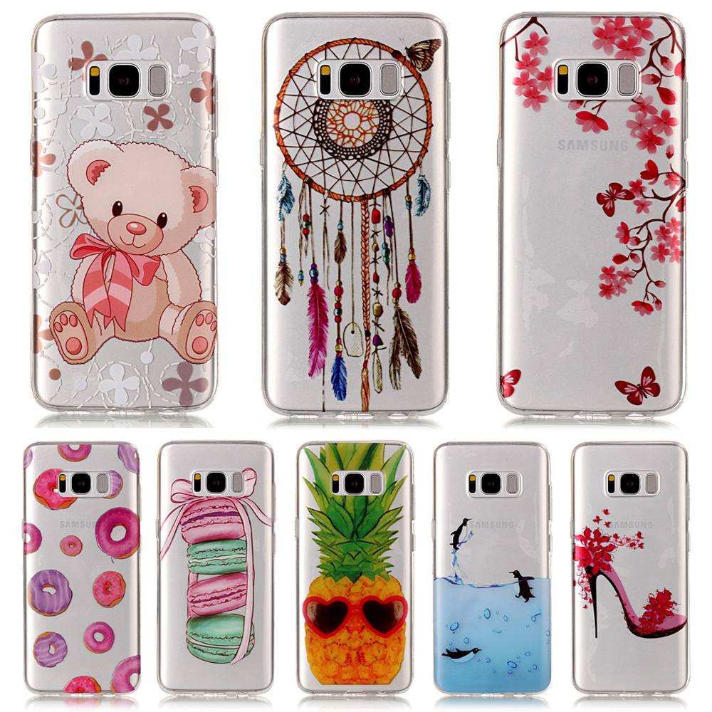 For <font><b>Samsung</b></font> Galxy A3 A5 J5 J7 2016 J3 2017 J7Prime S6 <font><b>S7</b></font> Edge S8 S9 Plus <font><b>Case</b></font> Cover Painting Soft TPU Silicone <font><b>Phone</b></font> <font><b>Case</b></font> image