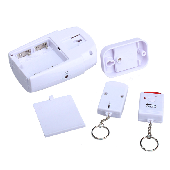 New Home Security Wireless Motion Sensor Alarm And Siren With 2 Remote Control LCC77