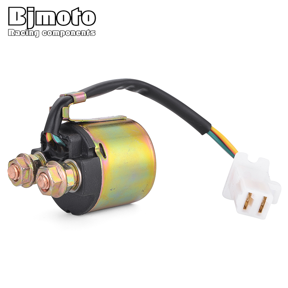 Bjmoto Motorcycle Starter Relay Solenoid For Honda Trx125 Atc200 1986 Trx 125 Wiring Diagram Trx200 Trx300 Trx300fw Fourtrax 300 35850 Hc4 000 In Motorbike Ingition From Automobiles