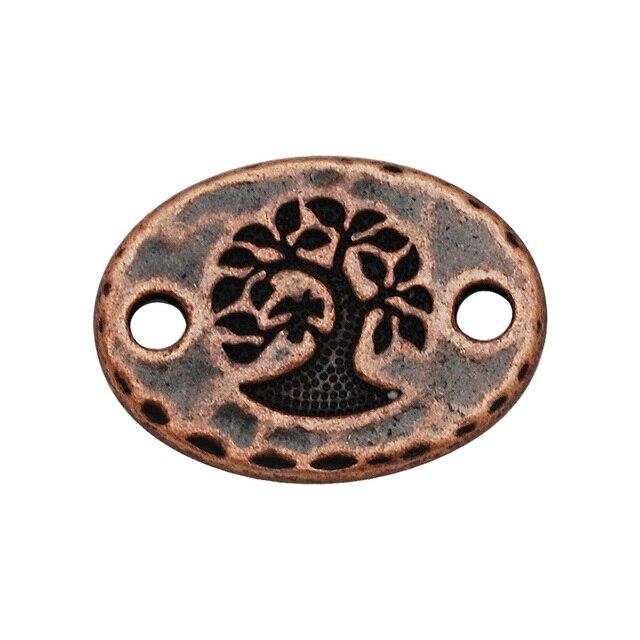 Aliexpress Buy Antique Copper Tone Symbol Bracelet Connector