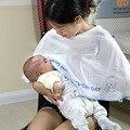 Cubierta de enfermería lactancia materna de la cubierta Del estilo Del Verano ropa del cabo del mantón de enfermería toalla manta de bebé para cochecito de lactancia delantal