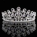 Tiaras De casamento Nupcial 2016 Nova Chegada Cristais Espumantes Princesa Coroas de Strass Pavão Acessórios Para o Cabelo HG00194