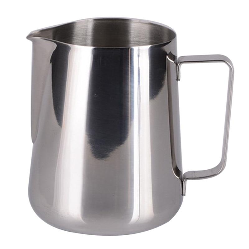 12 Oz Stainless Steel Cup Milk Pot Of Milk Cup coffee mug metal mug set 350ml with handle drop shipping on sale