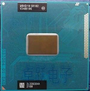 Original Intel Mobile Celeron cpu processor 1000M 1.8GHz L3 2M dual core Socket G2 / rPGA988B scrattered pieces SR102