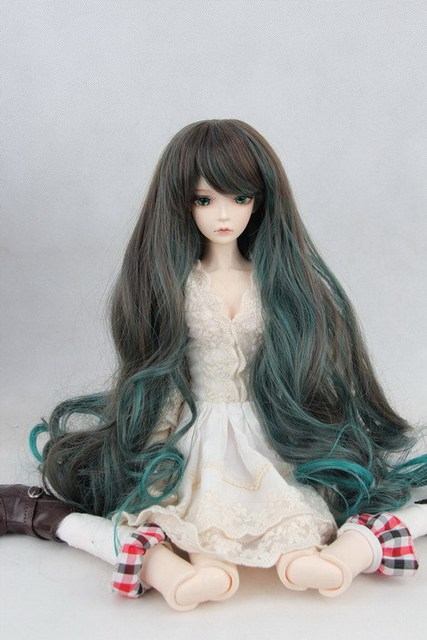 doll wig for BJD/SD 1/3 1/4 1/6Scale BJD wig.variety of colors .A15A1095.only sell wig.Not included doll clothes accessories