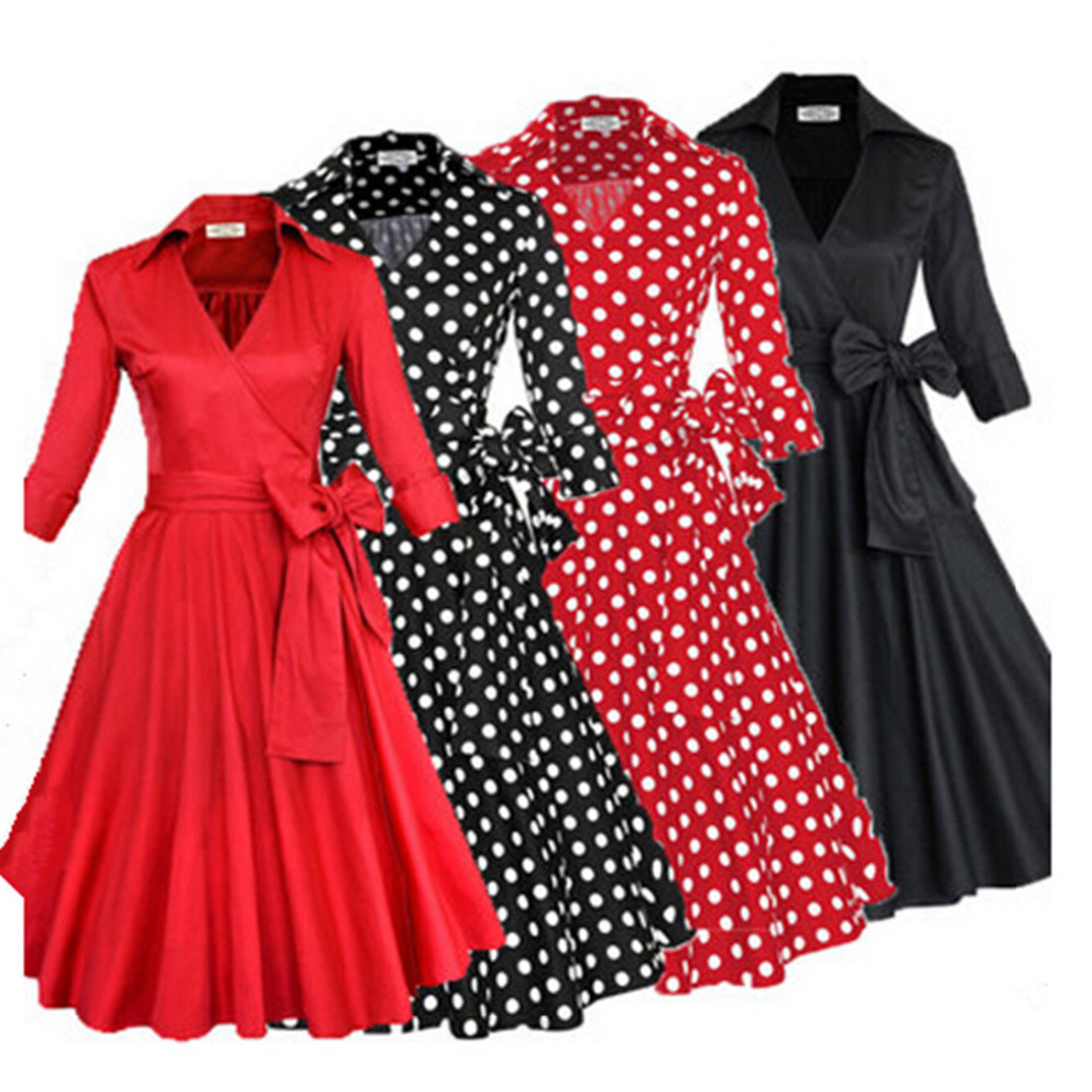 2016 summer audrey hepburn style 1950s 60s vintage retro sleeve 2016 summer audrey hepburn style 1950s 60s vintage retro sleeve rockabilly pinup 50s swing wedding party plus size dresses in dresses from womens clothing ombrellifo Image collections