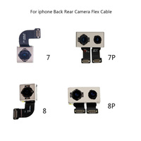 Main Back Rear Camera With Flash Module Sensor Flex Ribbon Cable For iPhone 7 7 Plus 8 8P Replacement Parts 100% Test Working
