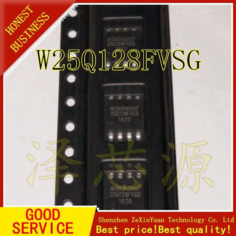 1-10pcs W25Q128BVFIG W25Q128BVFG 25Q128BVFG 25Q128 SOP-16