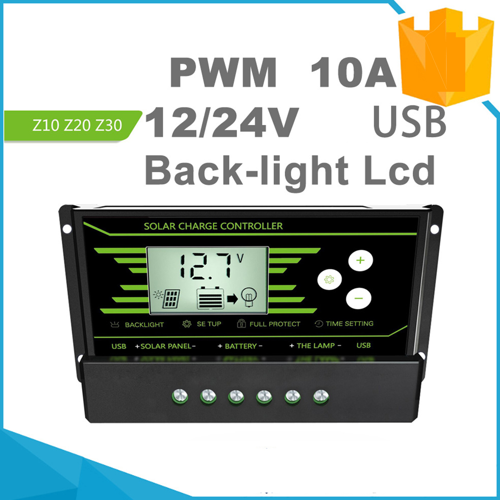 Hot Pwm Solar Controller Solar Panel Battery Light