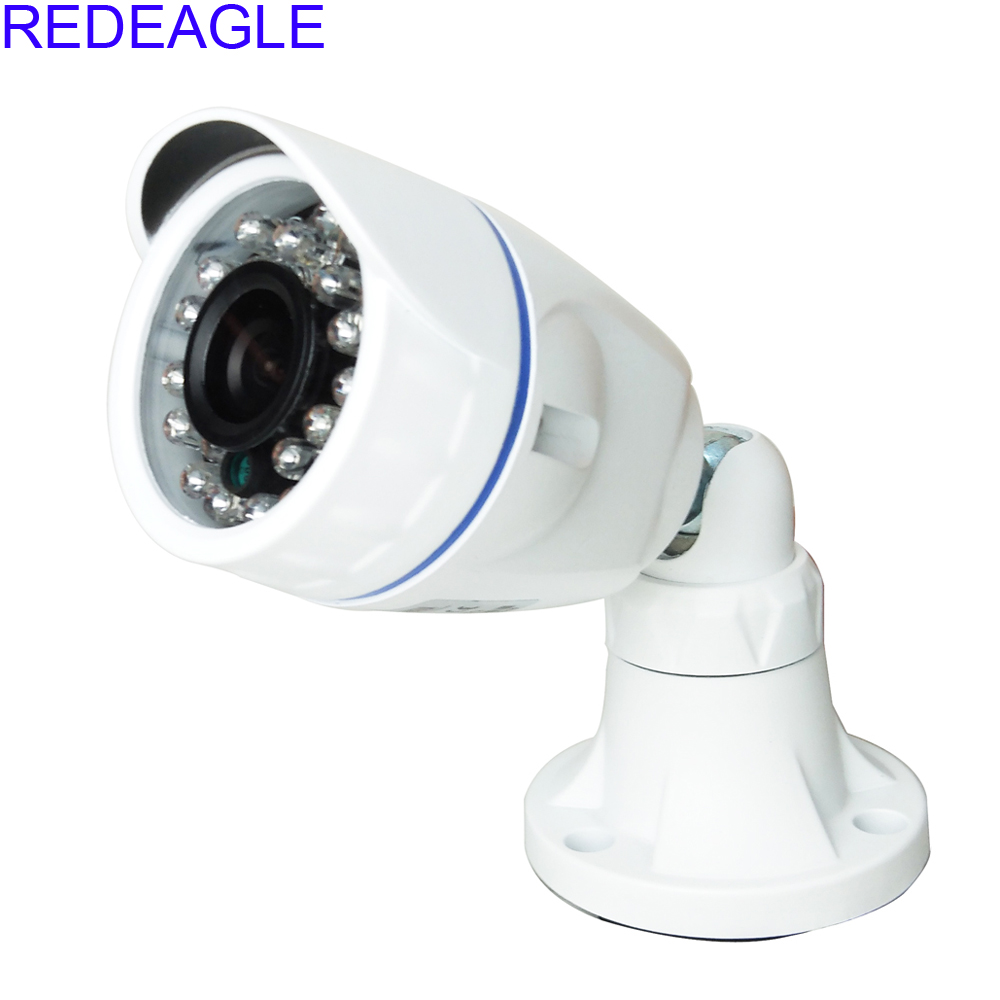 REDEAGLE 1MP 720P AHD Security Camera CCTV HD 3.6MM Lens 24 IR LED Indoor Oudoor Waterproof Metal Housing Free Shipping free shipping hot selling 720p 20m ir range plastic ir dome hd ahd camera wholesale and retail