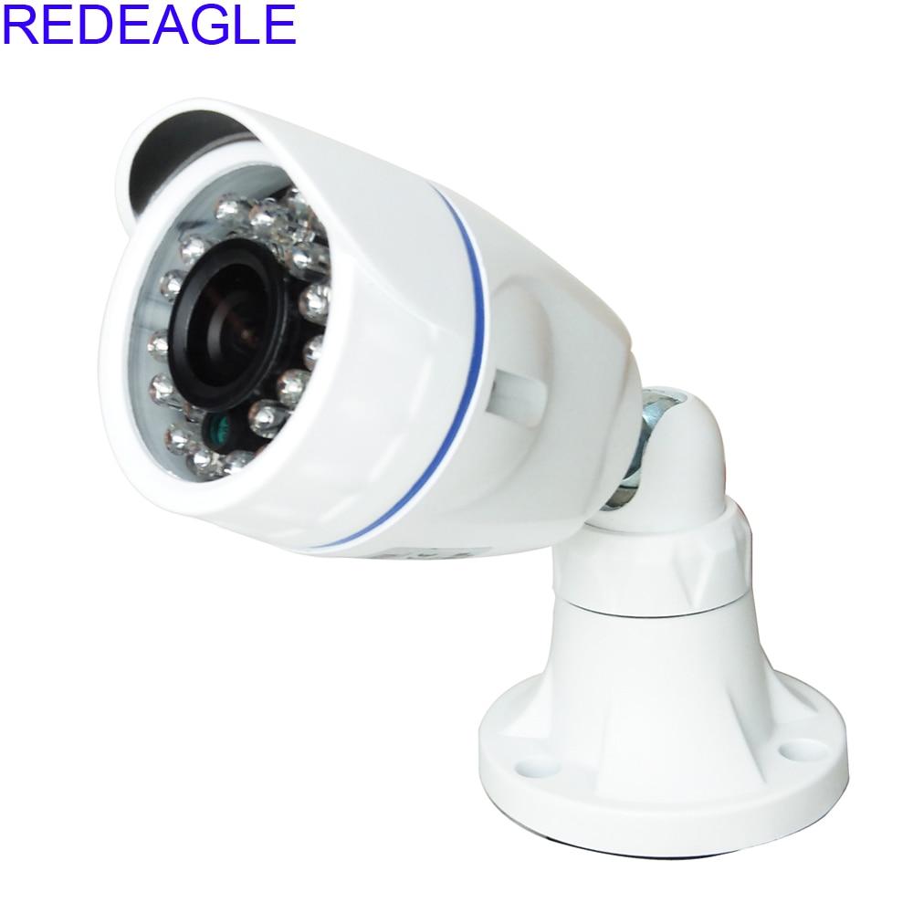 REDEAGLE 1MP 720P AHD Security Camera CCTV HD 3.6MM Lens 24 IR LED Indoor Oudoor Waterproof Metal Housing Free Shipping stellar h 264 1080p sony sensor cctv camera metal waterproof 4pcs white light led hd camera indoor