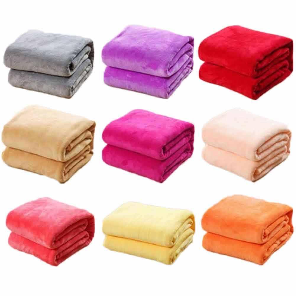 Mới nhất Simple Khá Cổ Điển Bedsheet Flannel Chăn Vogue Cá Tính Hiện Đại