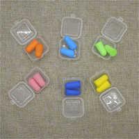 Hot Sale Foam Soft Corded Ear Plugs Noise Reduction Earplugs Swimming Travel Protective Earmuffs Anti-noise Sleeping Plugs