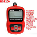 Ancel BST-200 Bateria Tester Inglês/Francês/Spansih/BST200 Russa Tester Testador de Bateria BST 200