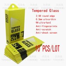 10 шт./лот FENGHEMEI Закаленное стекло протектор для samsung Note 2 N7100 Note 3 N9006 Note 4 N9100 Note 5 N9200 Note 7