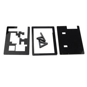 Image 5 - Elecrow 7 بوصة LCD حالة التوت بي شاشة عرض حامل دعم الاكريليك الإسكان قوس ل التوت بي 3 7 بوصة LCD الأسود