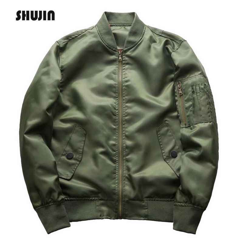 1aff8a867 Detail Feedback Questions about Men Bomber Jacket Thick Winter ...