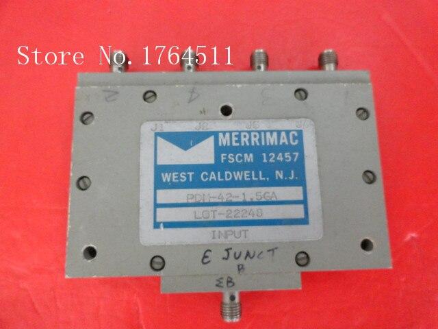 [BELLA] MERRIMAC PDM-42-1.5GA 0.96-2GHz A Four Supply Divider SMA