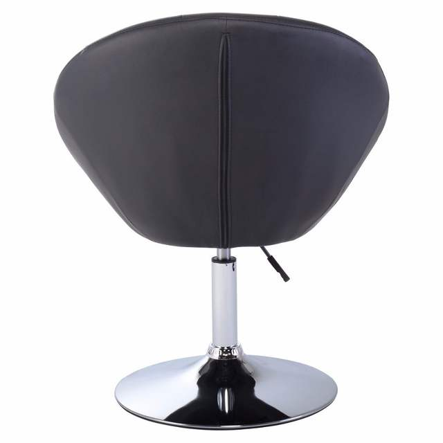 Pleasant Us 77 99 Goplus Adjustable Modern Swivel Bar Chair Round Tufted Back Accent Chair Pu Leather Black Home Office Chairs Hw52961 On Aliexpress Cjindustries Chair Design For Home Cjindustriesco