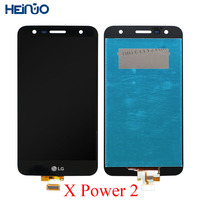 5.5'' LCD Display For LG X Power 2 M320 Full LCD with Touch Screen Digitizer Assembly With Frame M320G M320F M320N LCD Monitor