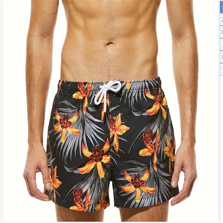 2018 Stroj Kapielowy Swimwear Men   Board     Shorts   Masculino Quickly Dry Beach Cool Man Boxers Comfortable Summer   Short   Pants Male