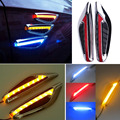 2Pcs Car led side marker lamp turn signal steering light Led fender side lamp DC 12v Auto Styling For Nissan BMW Ford