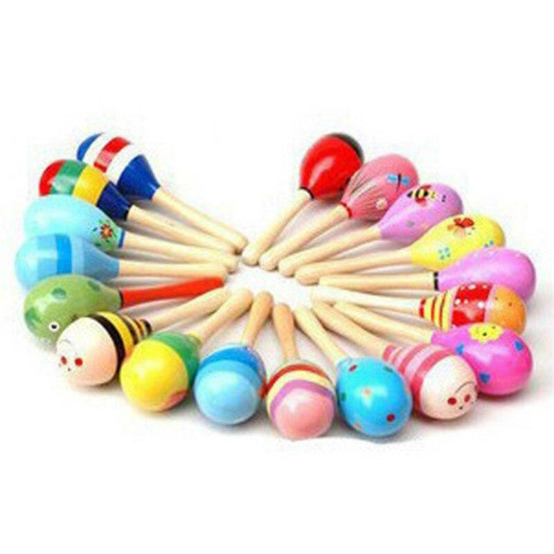 Toy Hammer-Handle Wooden Baby Music Kids Sound For Children Musical-Instrument