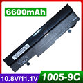 6600 mah bateria do portátil para asus eee pc 1001px 1001 1005 1101