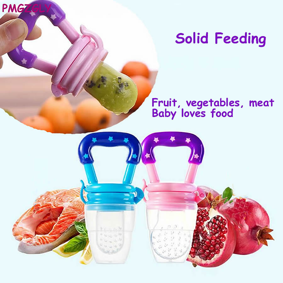 Baby Feeding Nipple Fruit Vegetable Feeding Cup Supplies Nipple Teat Pacifier Bottle Soother Feeder Newborn Pacifier Solid Feede