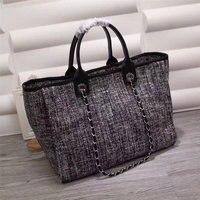 2018 Top Quality Luxury Handbags Women Bags Designer Fashion Denim Canvas Totes Brand Shoulder Bag Shopping Bags bolsas feminina