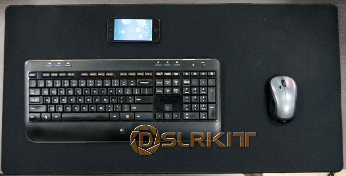 DSLRKIT 800 мм x 400 мм 31x15 ноутбук Pad Клавиатура/Мышь pad стол pad/мягкий резиновый дно