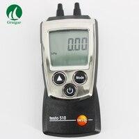 0 a 100 hPa Pressão Differiental Manômetro Digital Auto-Ranging Medidor Testo 510 compensação De Temperatura